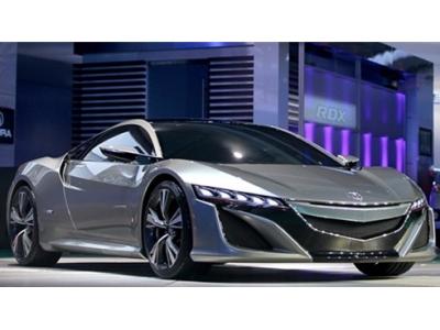 Acura NSX亮相北美车展