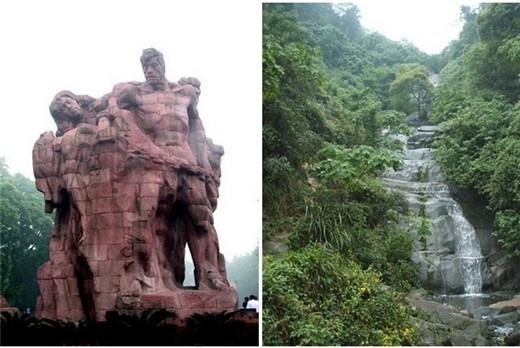 圣灯山森林公园是直辖市级森林公园,座落重庆巴南区距重庆