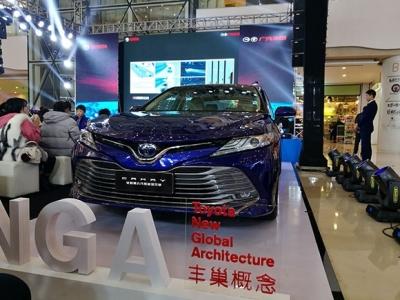 全新第八代凯美瑞重庆区域上市