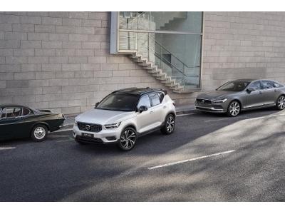 都市豪华SUV沃尔沃全新XC40耀目上市