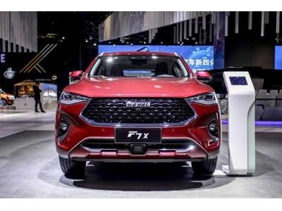 """上海车展启动预售,哈弗F7x极智科技版实力演绎""""SUV进化论"""""""
