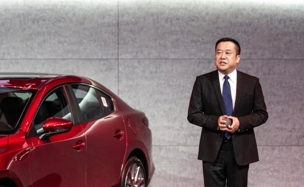_长安马自达汽车销售分公司执行副总经理 王金海
