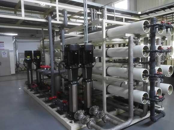 福特工厂废水深度处理回用设施
